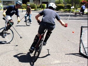 Unicycle Polo